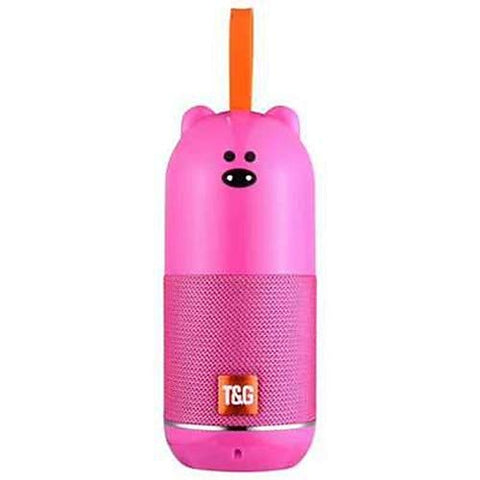 Teddy Bluetooth Speaker with USB/TF Slot | FM Radio | Aux | USB Charging - EZELLER