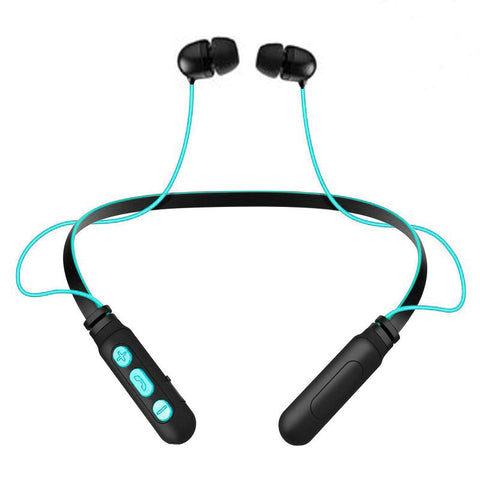 Level X Neckband Sports Wireless Headphone with Vibrating Alert for Android Mobiles EZ441 BLUE - EZELLER