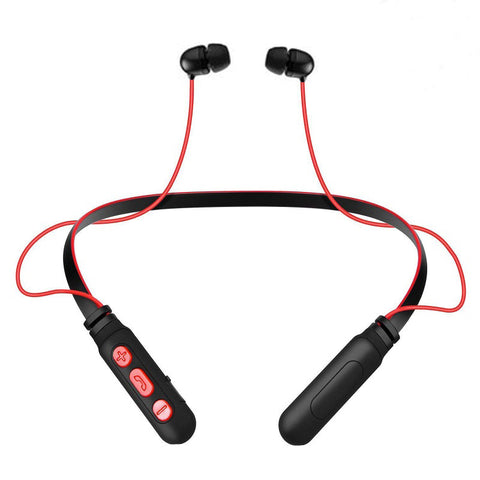 Level X Neckband Sports Wireless Headphone with Vibrating Alert for Android MobilesEZ441 RED - EZELLER