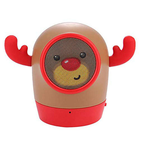 Music Monster Rugged Cartoon Bluetooth Speaker with in-Built FM USB SD Slot - EZELLER