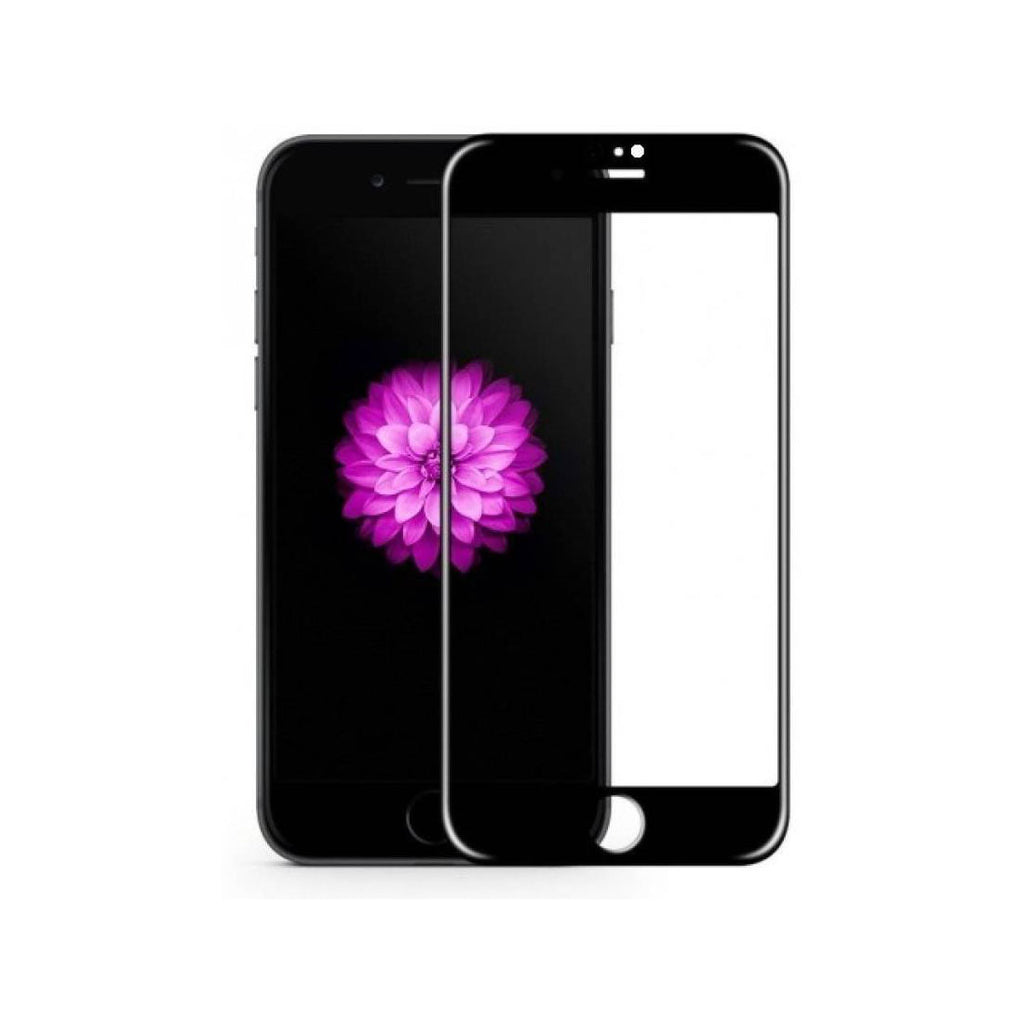 iPhone 6S Full Tempered Glass 6D, Ultra Clear, Zero Bubbles, Sensitive Touch,9H Hardness - EZELLER