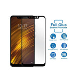 XIAOMI Poco F1 Full Tempered Glass 6D, Ultra Clear, Zero Bubbles, Sensitive Touch,9H Hardness