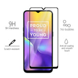 REALME U1FULL Tempered Glass 6D, Ultra Clear, Zero Bubbles, Sensitive Touch,9H Hardness - EZELLER