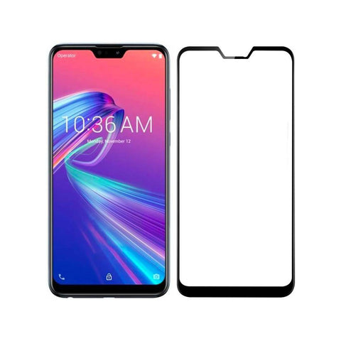 ASUS ZENFONE MAX PRO M2FULL Tempered Glass 6D, Ultra Clear, Zero Bubbles, Sensitive Touch - EZELLER