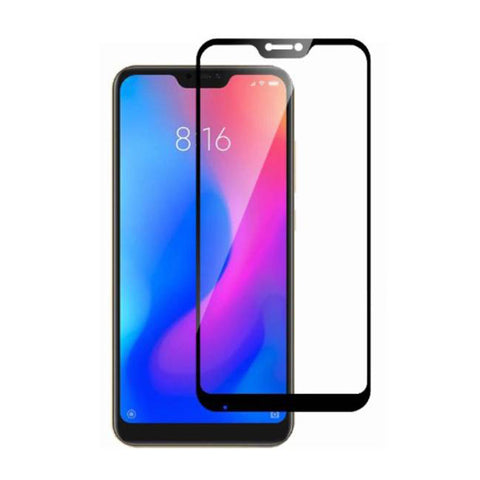 : REDMI 6 PRO Full Tempered Glass 6D, Ultra Clear, Zero Bubbles, Sensitive Touch,EZ448-REDMI 6 PRO - EZELLER