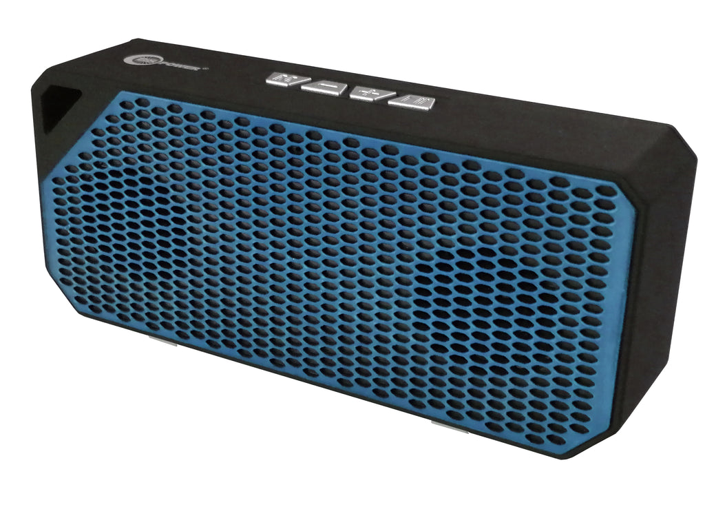 Sporty Loud Portable Bluetooth Speaker with 10W Audio Output, 2 Speakers with SubwoofersEZ463 - EZELLER