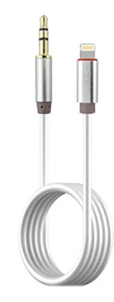 KIN iPhone AUX Cable to 3.5 mm Jack for Car, Music System Compatible for Phones Xs EZ475 - EZELLER