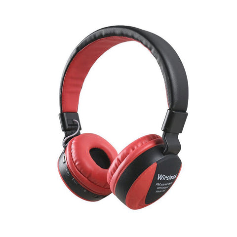 KIN Wireless Headset Dolby Atoms Leather lite Coat Band with FM Radio,TF Slot, Aux in for Joggers - EZELLER