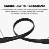 Bspower Rugged Leather Bluetooth Neckband V 5.0 (20 Hrs Music Time) Sweat Proof For All MobilesEZ504 - EZELLER