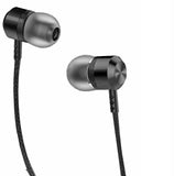 expanded view JOY Metal Neckband Wireless Earphone with Mic Compatible for All Mobiles - EZELLER