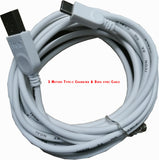 IVON TYPEC Data cable Long Length 3 Meters ( Charging + Sync)  2.1 A for  Mobile phones, Tablets, Laptops, All type C-01 Gadgets