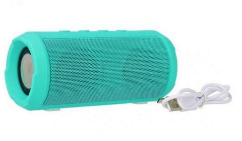 Drum Speaker Woofer Bar Portable Bluetooth Speaker EZ386-CYAN - EZELLER