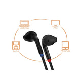 Rugged Earphone with Volume +/- for Android Mobiles, iPhone, IPad, Tablets, Laptops, Computers - EZELLER