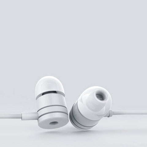 EAR PHONE/Head phones EZ235 - WHITE - EZELLER