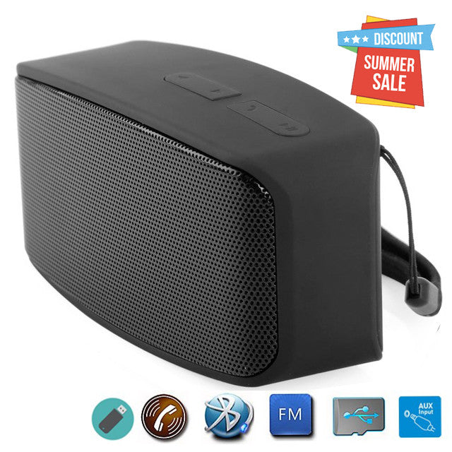 eZe sound speaker bluetooth speakerwith mic, EZ178-Black - EZELLER