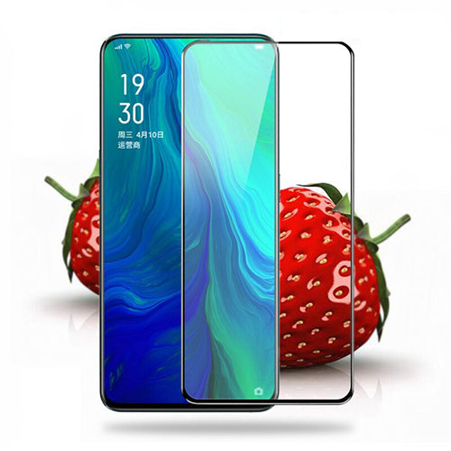 Ctel Full Tempered Glass 6D Compatible for Oppo Reno, Ultra Clear, Zero Bubbles, Sensitive EZ448 - EZELLER