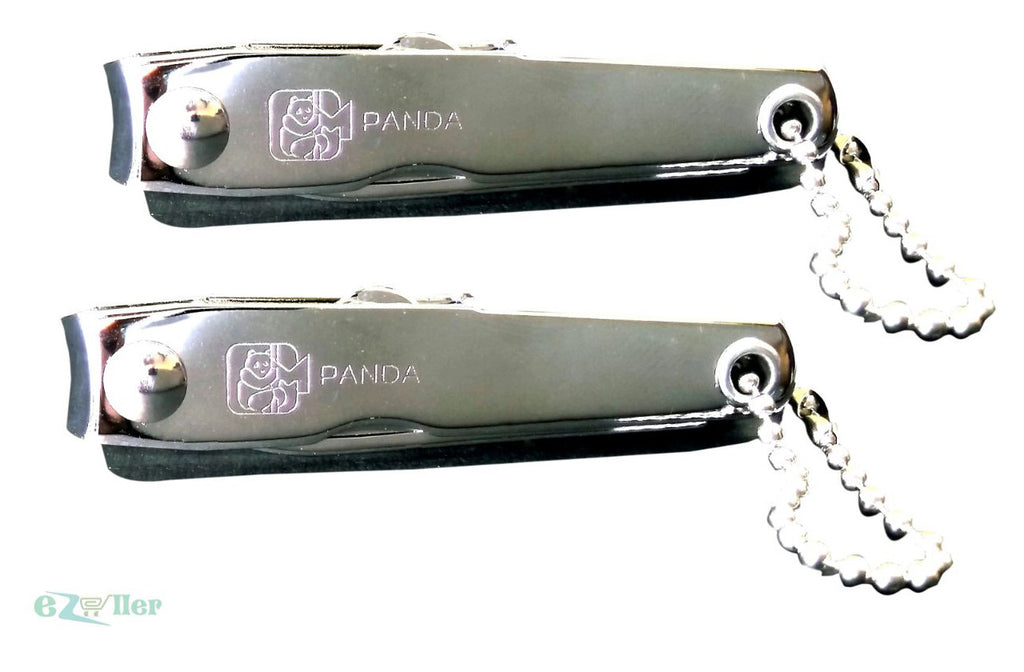 COMBO!!Fingernail and Toenail Clippers - Nail Cutters Manicure Panda EZ159 - EZELLER