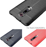 REDMI K20 Case/Cover Look Back Case [Leather Texture Design-100 Import] Rugged TPU Material Slim Fit Flexible Lightweight Shock Protective - EZELLER