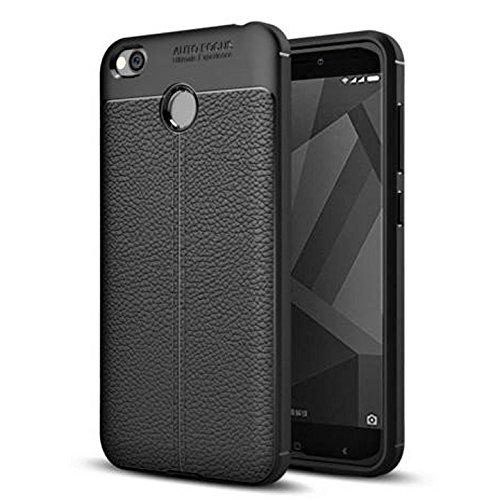 Redmi 4 Cover/ Case Premium Look Back Case Protective Back Cover for Redmi 4-EZ327 - EZELLER