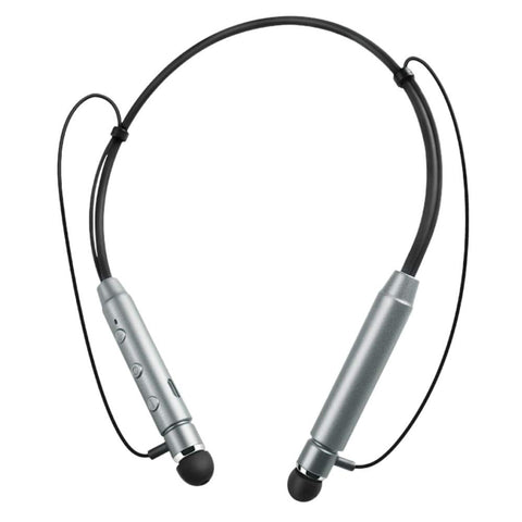 Bluetooth Neckband with Metal Head in-Earphone Flex Sweat Proof Sports Headphone EZ458 - EZELLER
