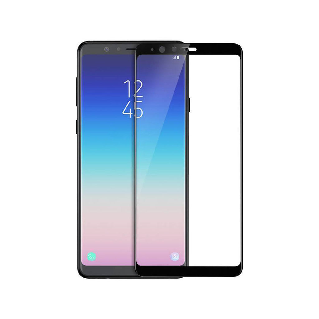 Samsung A8 Star Full Tempered Glass 6D, Ultra Clear, Zero Bubbles, Sensitive Touch - EZELLER