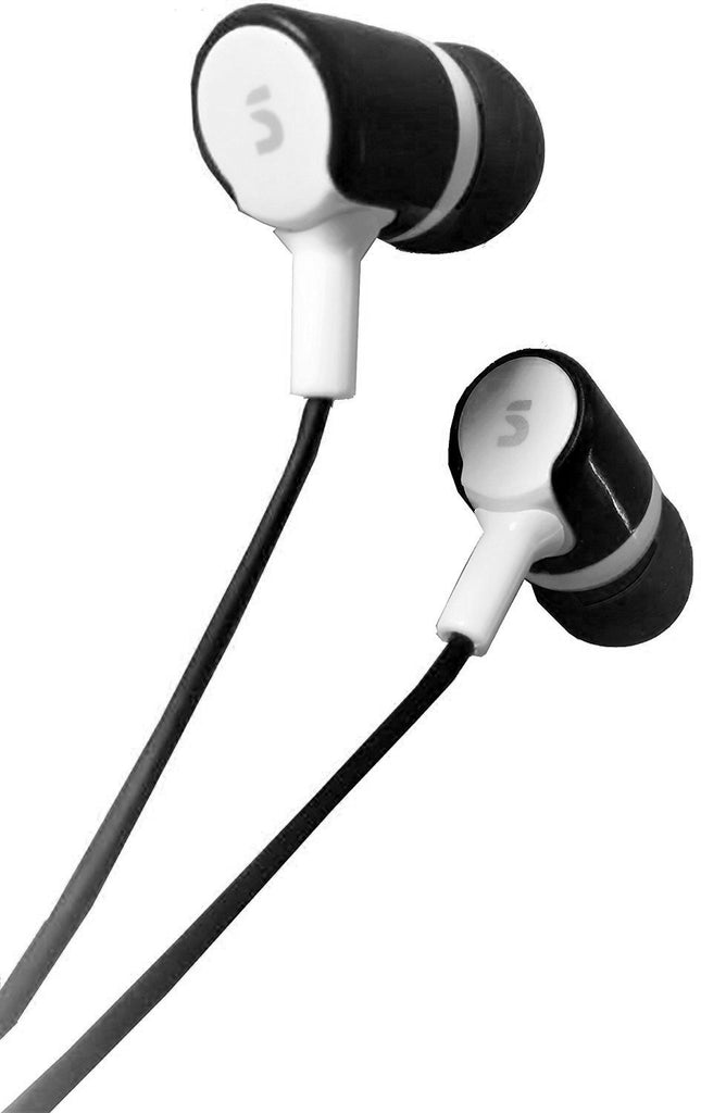EAR PHONE/Head phones!! Bullet-on-Series SONILEX ( Black ) EZ169 - EZELLER