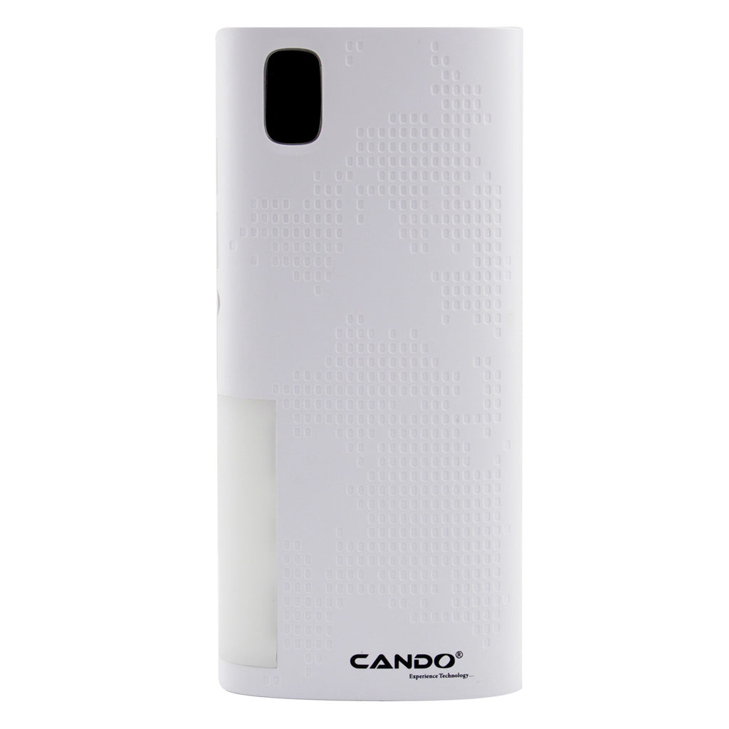 CANDO C4 Smart Digital - 10400 mAh Power Bank EZ090-White - EZELLER