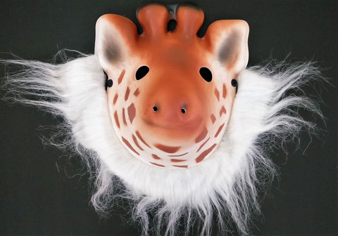 Animal Mask (GIRAFFE HEAD MASK ) - EZELLER
