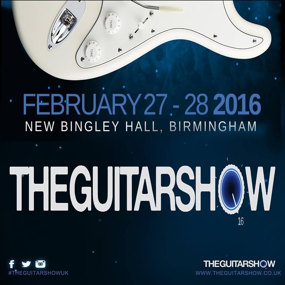 Only a couple days to wait until The Guitar Show 2016!