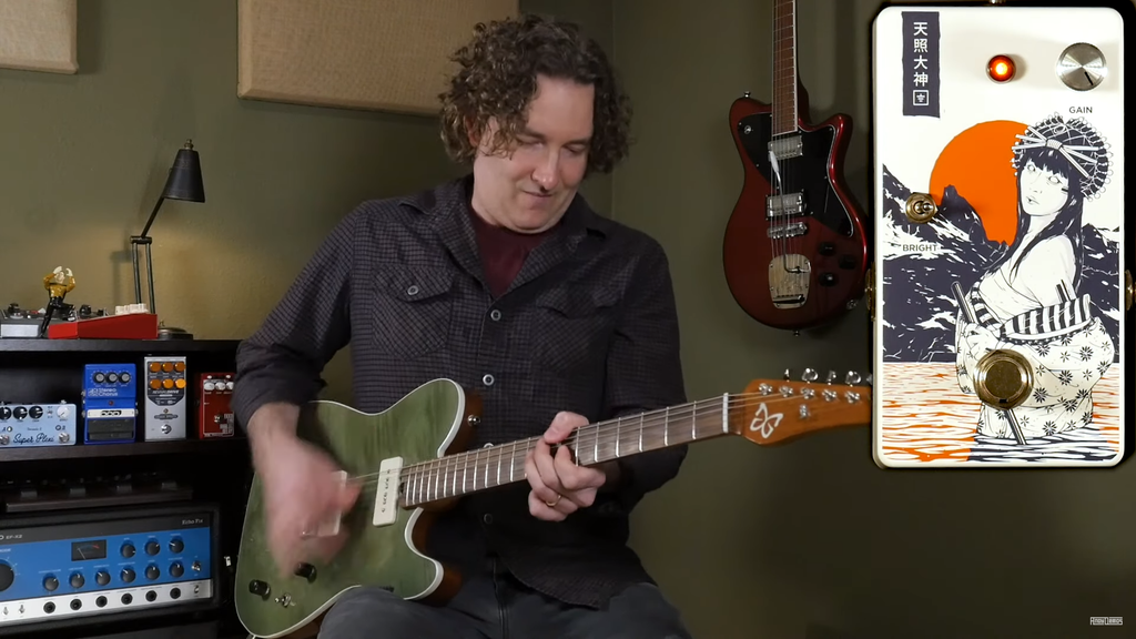 Andy Martin demos the Ground Control Audio Amaterasu V2 and Tsukuyomi Boosts