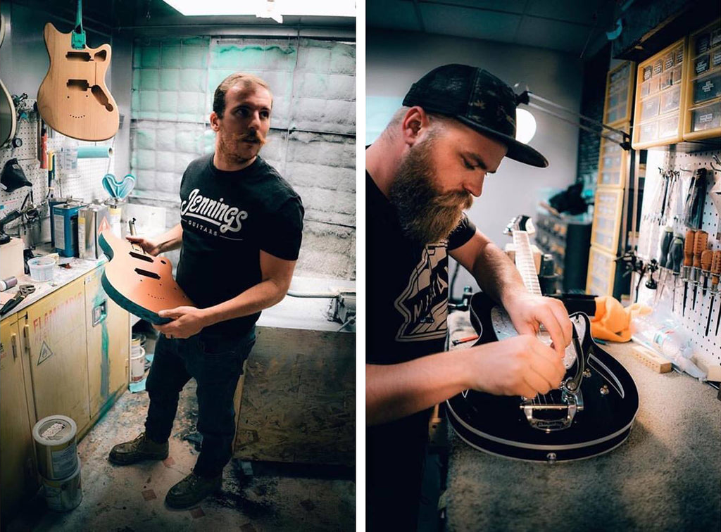 Meet the... makers? - Chad & Devin of Jennings Guitars