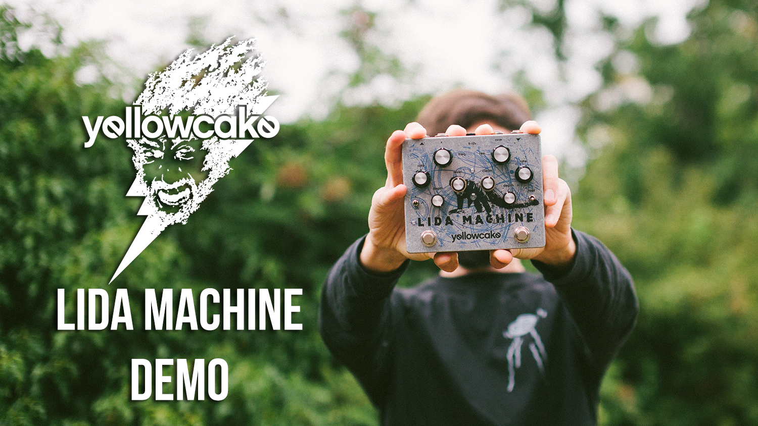 New pedal demo! The Yellowcake Pedals 'Lida Machine'