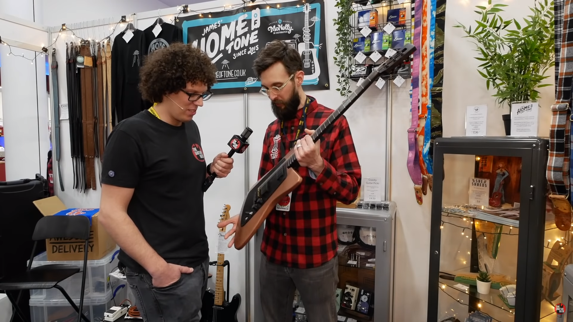 The Guitar Geek interview at The Guitar Show 2020!