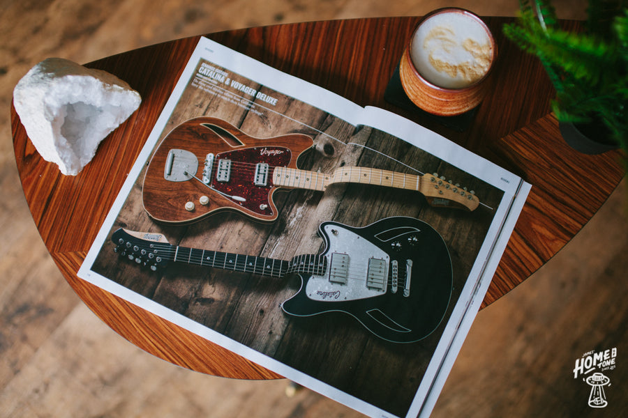 Jennings hit the pages of Guitar Magazine this month!
