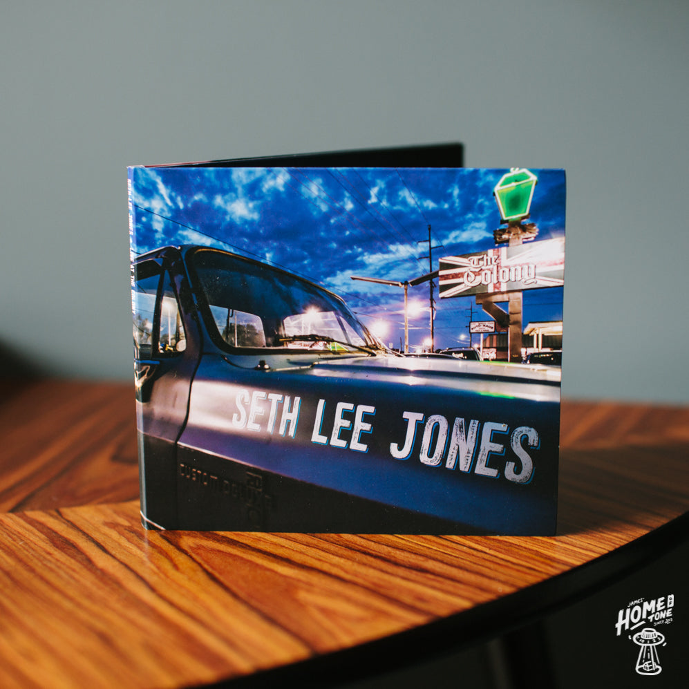 Home of Tone Record of the week - Seth Lee Jones' Live at The Colony