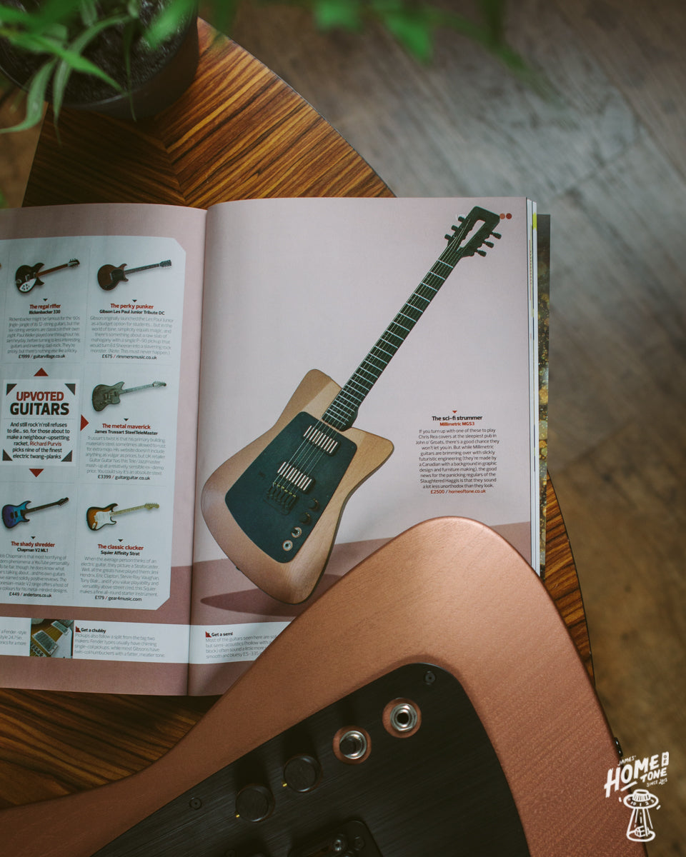 My Millimetric Instruments MGS3 featured in Stuff Magazine!