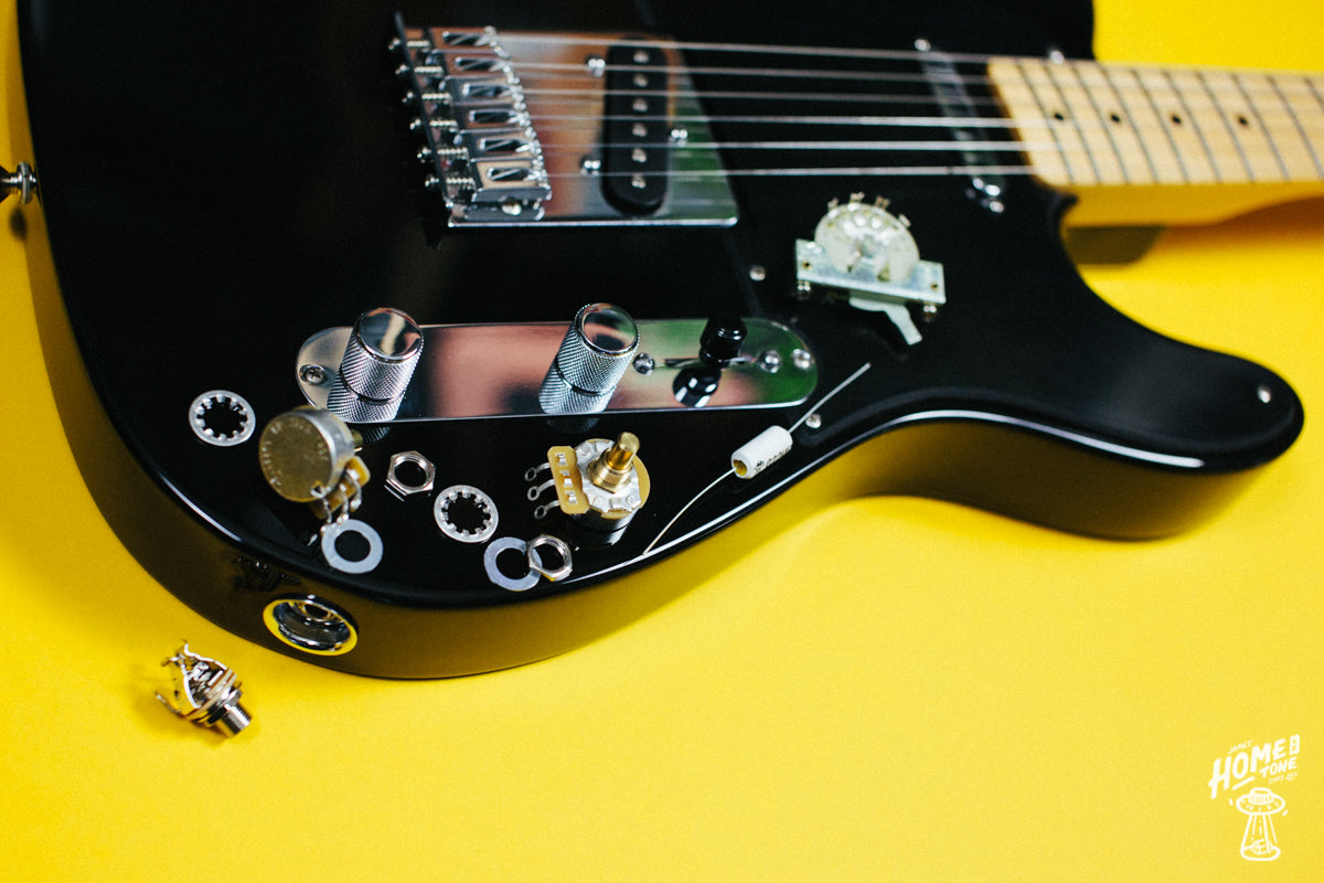 How to Guide - Fitting a 3-way Pre-Wired Harness to a Telecaster!