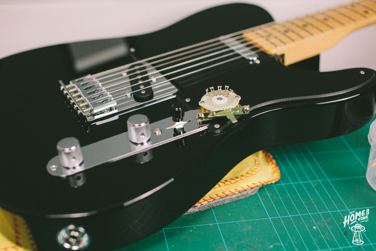 How to Guide - Fitting a 4-way Pre-Wired Harness to a Telecaster!
