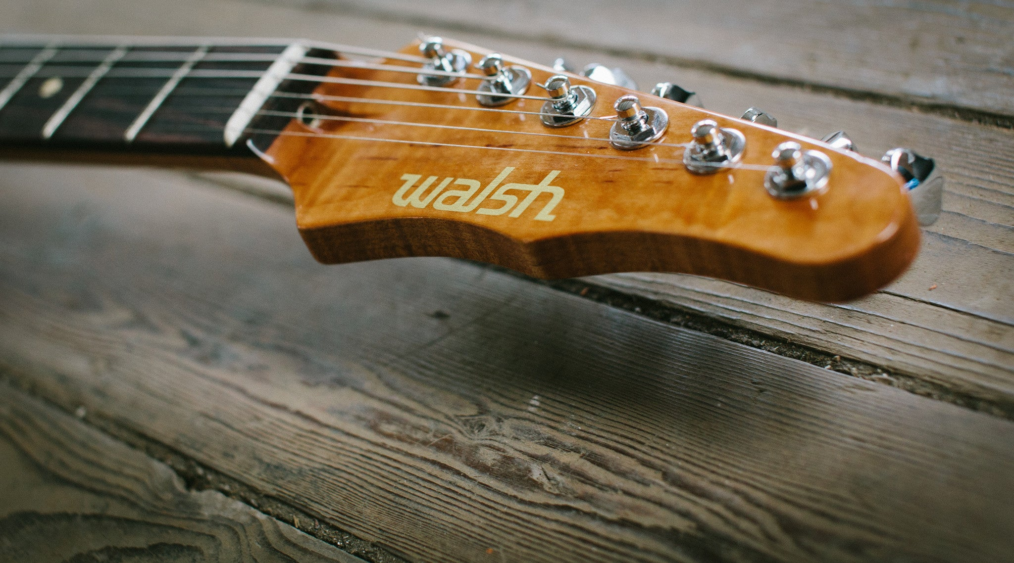 Meet The Maker - Social Distortion to Luthiery, a chat Drew Walsh of Walsh Guitars