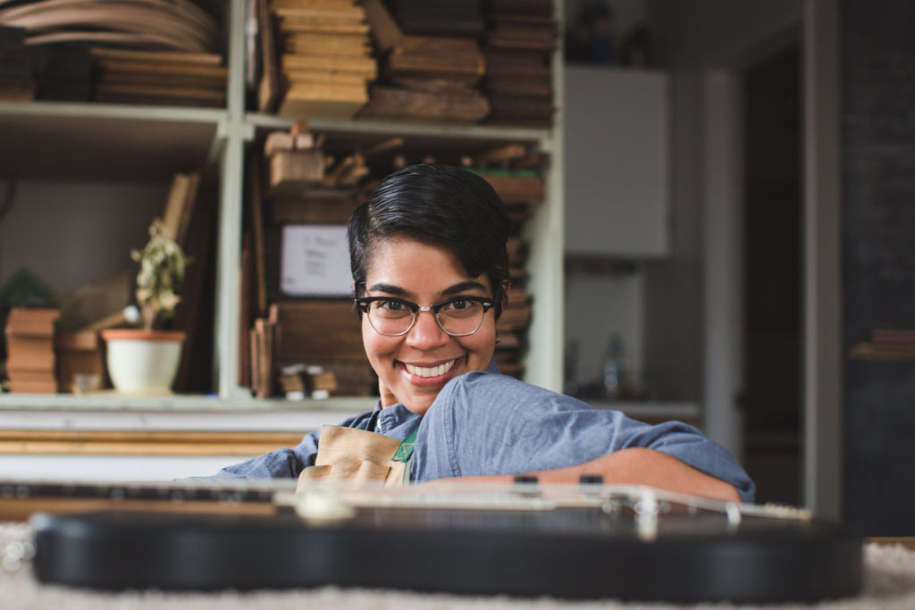 Meet the maker - Leila Sidi of Tunatone Instruments