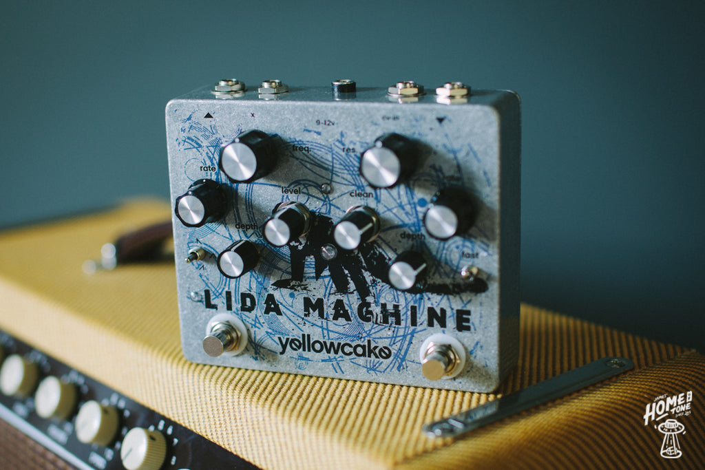 The Yellowcake lida machine - The most beautiful and informative demo you'll hear