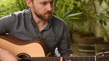 Will McNicol plays a Tom Sands Model 'S' White label