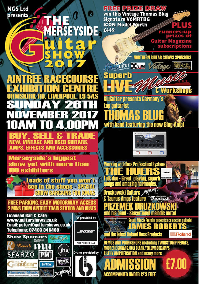 James' Home of Tone at The Merseyside Guitar Show 2017