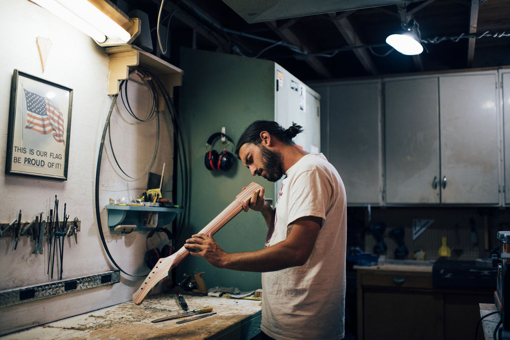 Meet the maker - Nick Pourfard of Prisma Guitars
