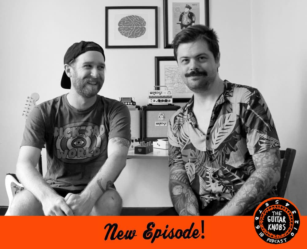 Seb from Ground Control Audio on The Guitar Knobs Podcast!