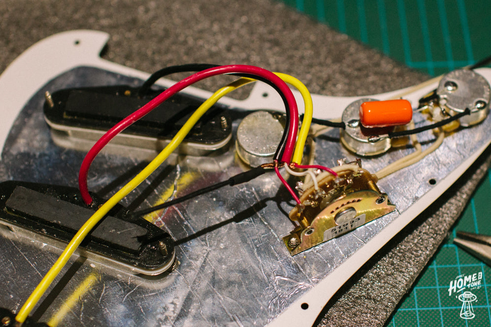 How to Guide - ing a Pre-Wired Harness to a Stratocaster ... Wire Harness Component Guide on speaker components, electronic circuit components, wire alligator clips electrical, torque converter components,