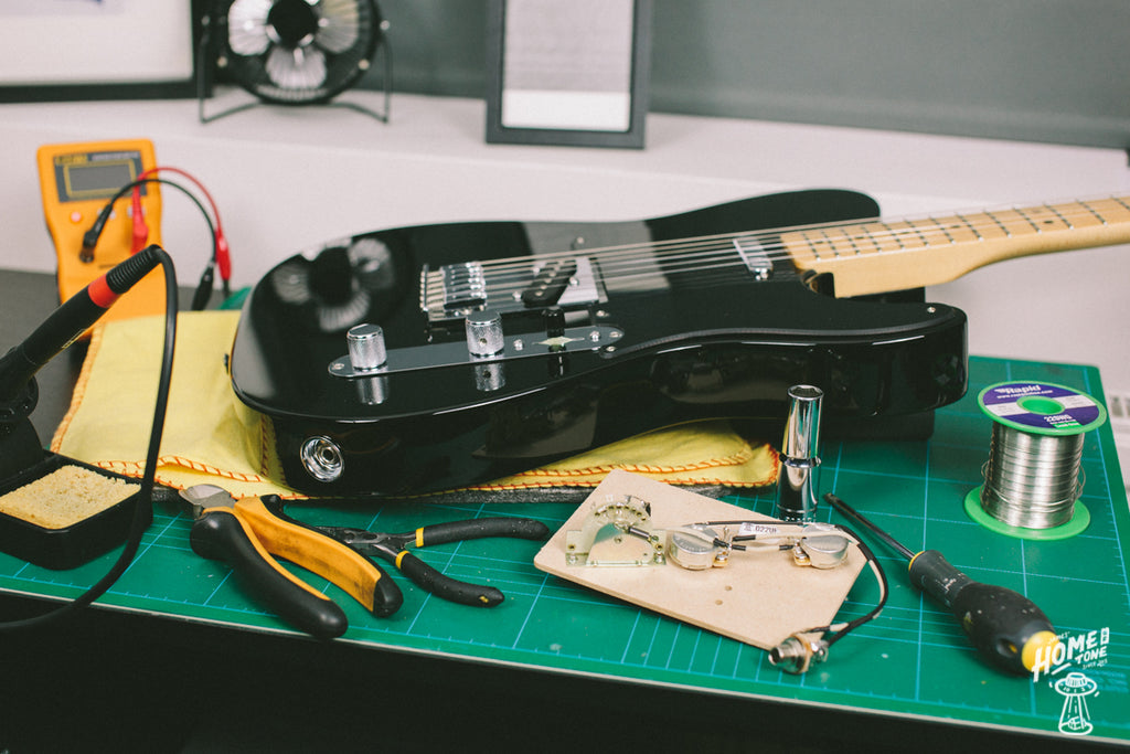How to install a Telecaster 3 way harness