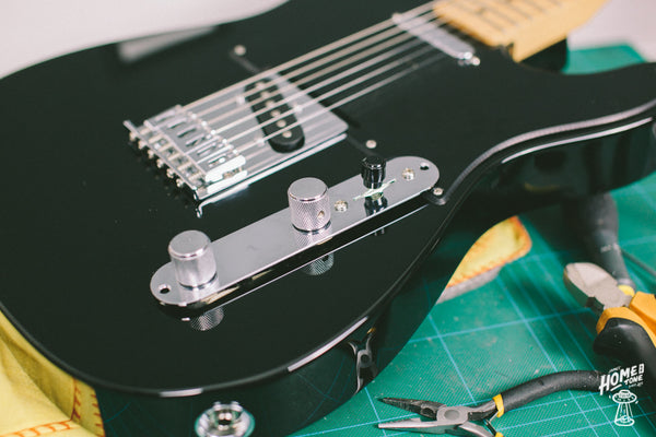 how to install a Telecaster 3 way wiring harness