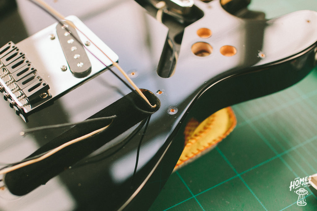 How to install a 4 way Telecaster harness