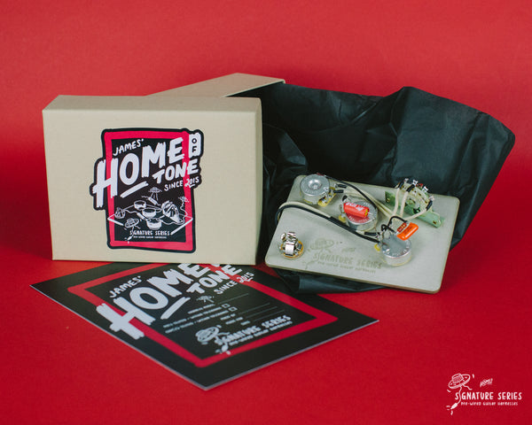 Home of Tone Signature Series guitar wiring harnesses